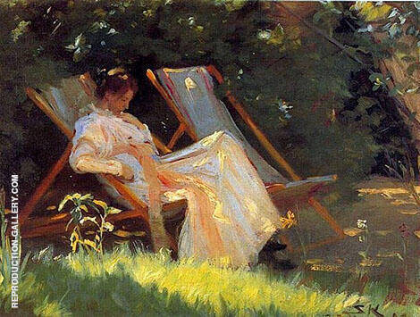 Skagen Garden Chairs By Peder Severin Kroyer