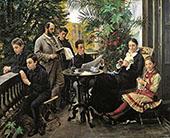 The Hirschsprung Family 1881 By Peder Severin Kroyer