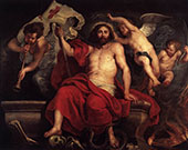 Christ Triumphant over Sin and Death By Peter Paul Rubens