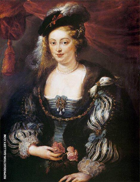 Helena Fourment By Peter Paul Rubens