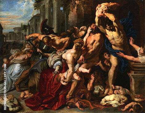 Massacre of The Innocents By Peter Paul Rubens