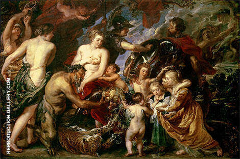 Peace and War 1629 By Peter Paul Rubens
