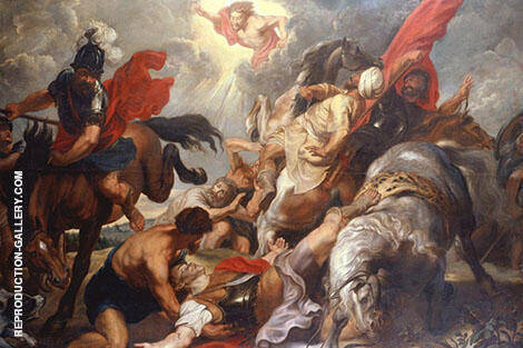 The Conversion of St Paul By Peter Paul Rubens