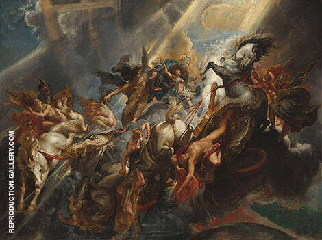 The Fall of Phaeton 1604 By Peter Paul Rubens