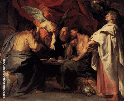 The Four Evangelists By Peter Paul Rubens