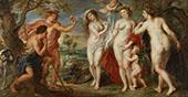 The Judgement of Paris 1638 By Peter Paul Rubens