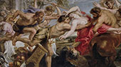 The Lapiths and The Centaurs By Peter Paul Rubens