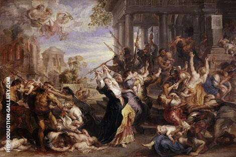 The Massacre of Innocents 1612 By Peter Paul Rubens