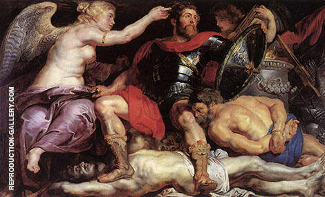The Triumph of Victory Painting By Peter Paul Rubens