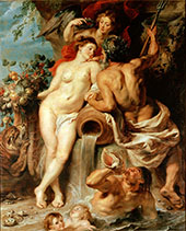 The Union of Earth and Water 1618 By Peter Paul Rubens