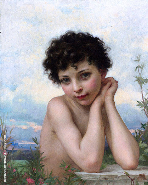 Little Marguerite By Jules-Cyrille Cave