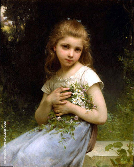 My Daisies 1901 Painting By Jules-Cyrille Cave - Reproduction Gallery