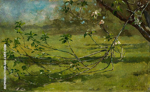 Apple Blossoms 1880 By Theodore Robinson