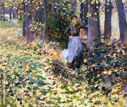 Autumn Sunlight 1888 By Theodore Robinson