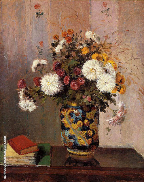 Bouquet of Flowers 1873 By Theodore Robinson