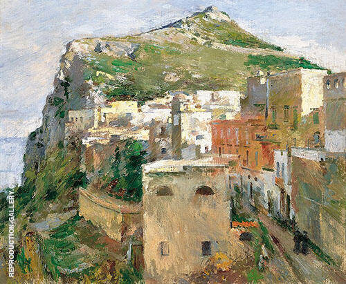 Capri Painting By Theodore Robinson - Reproduction Gallery