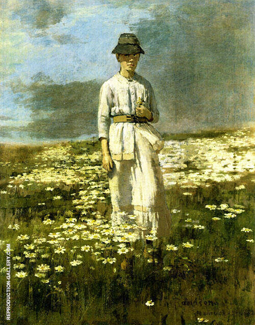 Daisy Field Nantucket 1882 By Theodore Robinson