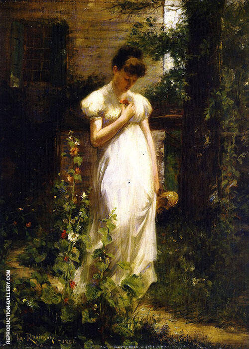 Flower of Memory 1881 By Theodore Robinson