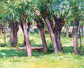 In The Shade of The Willows 1892 By Theodore Robinson