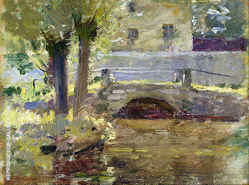 The Bridge at Giverny 1891 By Theodore Robinson