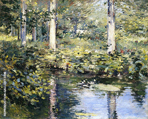 The Duck Pond 1891 By Theodore Robinson