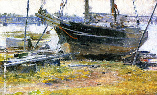 The E.M.J.Betty 1894 By Theodore Robinson