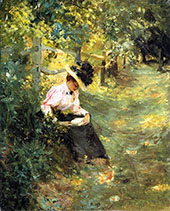 The Lane By Theodore Robinson