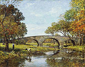 The Old Bridge By Theodore Robinson