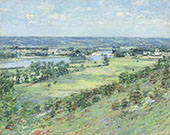 The Valley of The Seine from The Hills of Giverny 1892 By Theodore Robinson
