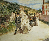The Wedding March 1892 By Theodore Robinson