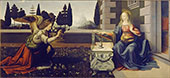 Annunciazione By Leonardo da Vinci