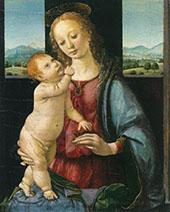 Madonna and Child with a Pomegranate 1480 By Leonardo da Vinci