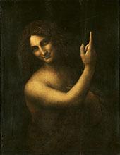 Saint John The Baptist By Leonardo da Vinci