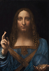 Salvator Mundi 1490 By Leonardo da Vinci