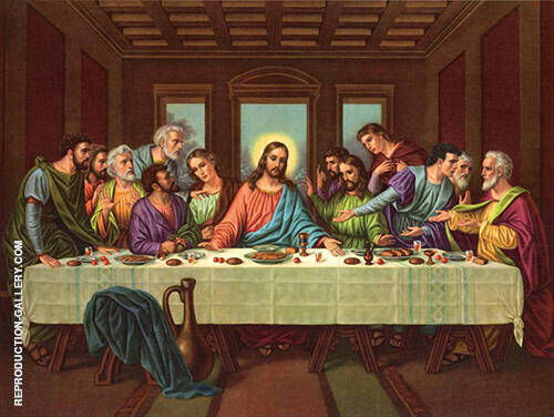 The Last Supper 1498 By Leonardo da Vinci