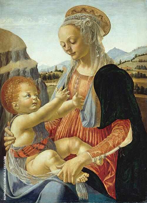 Verrocchio 1470 By Leonardo da Vinci