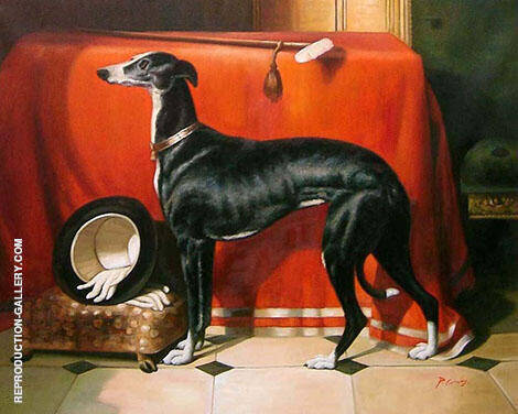 A Favorite Greyhound of Prince Albert 1841 By Edwin Henry Landseer