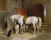 Favourites The Property of H.R.H.Prince George of Cambridge 1834 By Edwin Henry Landseer