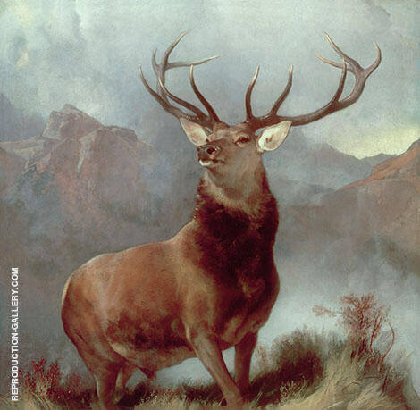 Monarch of The Glen 1851 By Edwin Henry Landseer