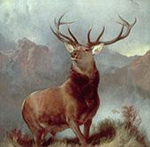 Monarch of The Glen 1851 By Edwin Henry Landseer