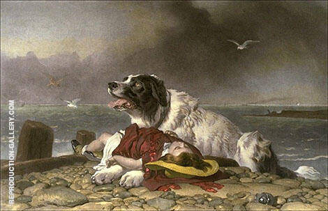 Saved 1856 By Edwin Henry Landseer