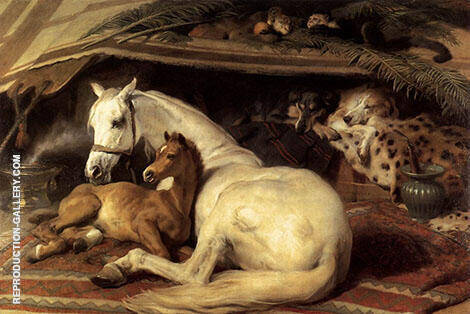 The Arab Tent 1866 By Edwin Henry Landseer