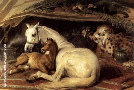 The Arab Tent 1866 By Edwin Henry Landseer