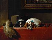 The Cavaliers Pets 1845 By Edwin Henry Landseer