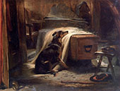 The Old Shepherds Chief Mourner 1837 By Edwin Henry Landseer