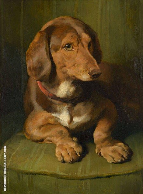 Waldmann 1841 Painting By Edwin Henry Landseer - Reproduction Gallery