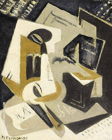 Composition 1918 By Maria Blanchard