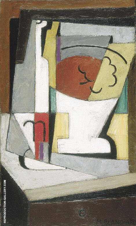 Cubist Still Life 1919 Painting By Maria Blanchard - Reproduction Gallery