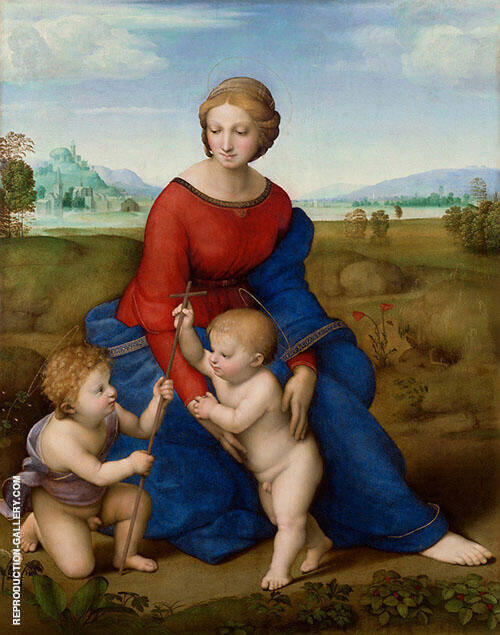 Madonna of Meadow 1505 By Raphael
