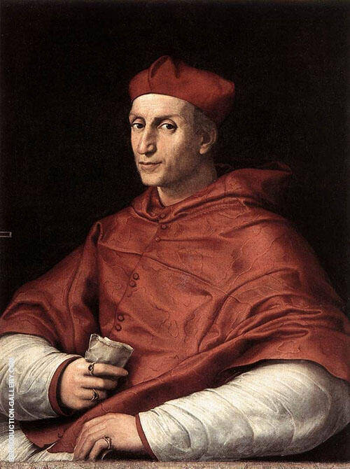 Portrait of Cardinal Bibbiena 1516 By Raphael